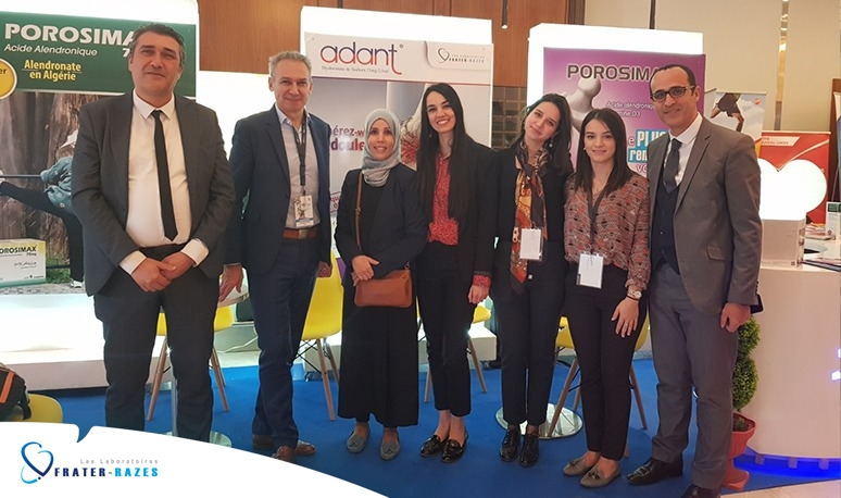 The participation of Les Laboratoires FRATER-RAZES in the 15th Congress of the Algerian Rheumatology Society | SAR 2020 |